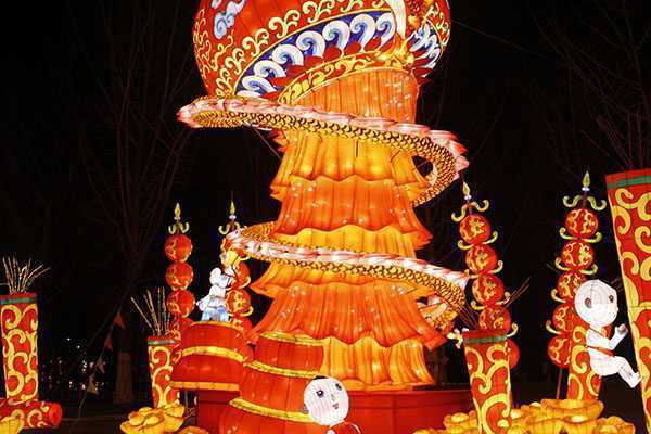 自貢:彩燈對外文化貿易五年力爭創收1億美元